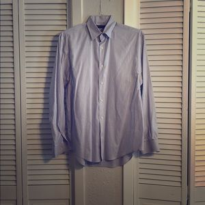 Perry Ellis mens long sleeve button down